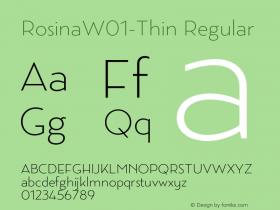 Rosina-Thin