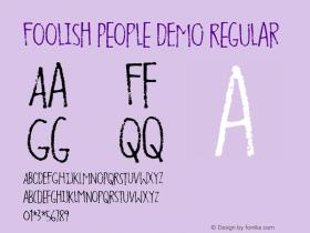Foolish People