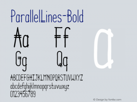 ParallelLines-Bold