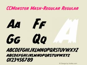 CCMonster Mash-Regular