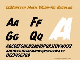 CCMonster Mash Worn-Rg