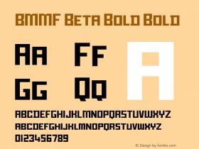 BMMF Beta Bold