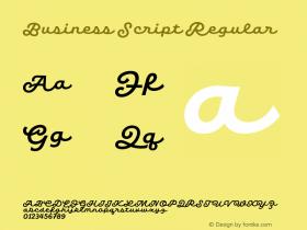 Business Script