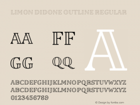 Limon Didone Outline