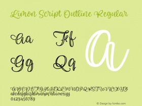 Limon Script Outline