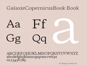 GalaxieCopernicusBook