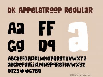 DK Appelstroop