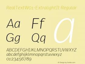 RealText-ExtralightIt