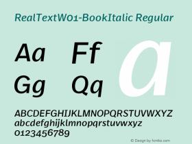 RealText-BookItalic