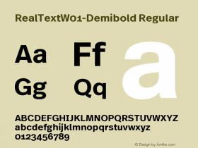 RealText-Demibold