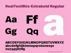 RealText-Extrabold