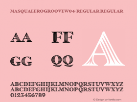 MasqualeroGroove-Regular