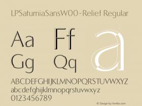 LPSaturniaSans-Relief