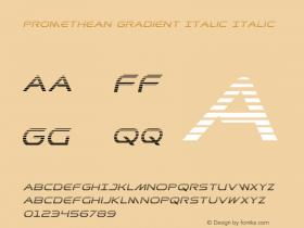Promethean Gradient Italic
