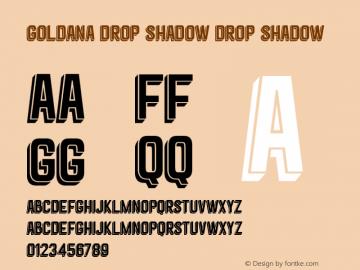 Goldana Drop Shadow