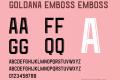 Goldana Emboss