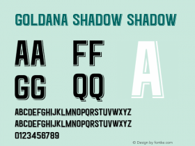 Goldana Shadow