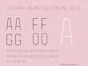 Goldana Inline Solo