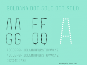 Goldana Dot Solo