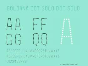 Goldana Dot Solo