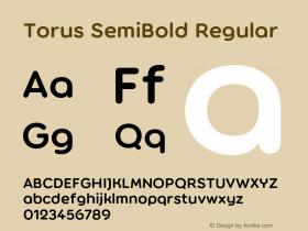 Torus SemiBold