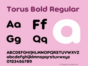 Torus Bold