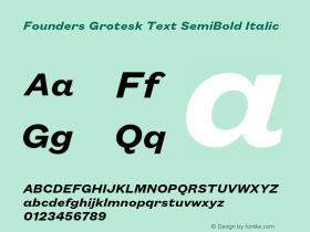 Founders Grotesk Text
