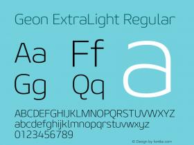 Geon ExtraLight