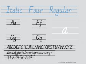 Italic Four