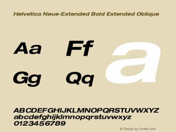 Helvetica Neue-Extended