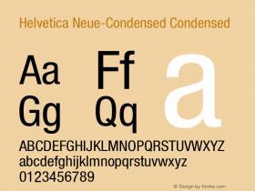 Helvetica Neue-Condensed