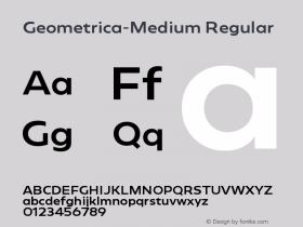 Geometrica-Medium
