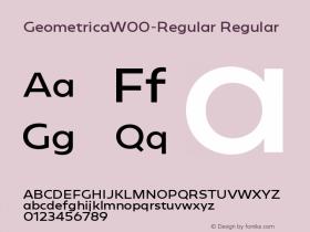 Geometrica-Regular