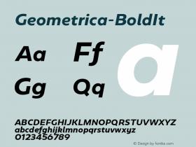 Geometrica-BoldIt
