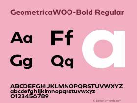Geometrica-Bold