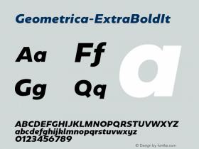 Geometrica-ExtraBoldIt