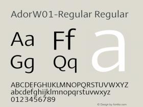 Ador-Regular