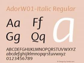 Ador-Italic