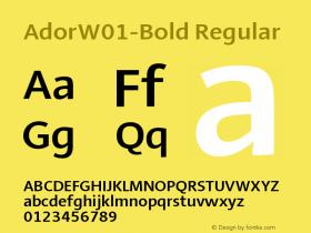 Ador-Bold