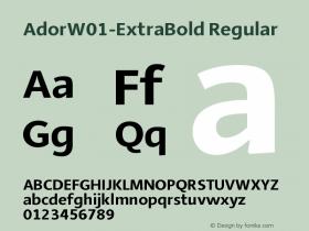 Ador-ExtraBold