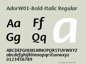 Ador-Bold-Italic