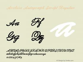 Archive Autograph Script