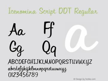 Icenomina Script DDT
