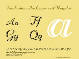 Troubadour Pro Engraved