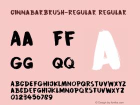 CinnabarBrush-Regular