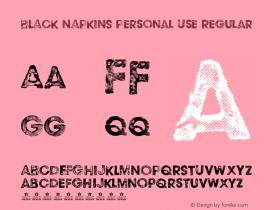 BLACK NAPKINS