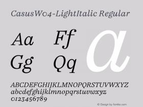 Casus-LightItalic