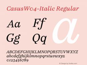 Casus-Italic