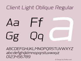 Client Light Oblique