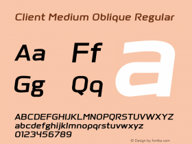 Client Medium Oblique